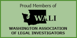 DL Investigating is a good standing member of the Washington Association of Legal Investigators.